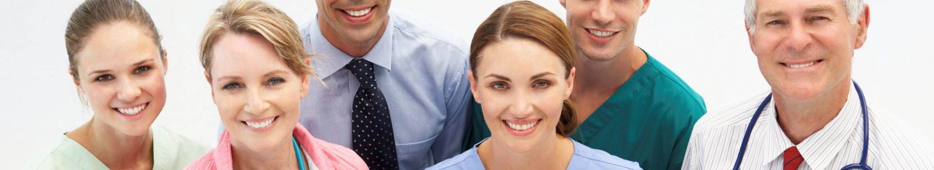 health care professionals for web header